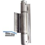 Konstruktionsband 3-tlg. Ø 25,3 mm, Bandhöhe 160 mm, Stahl blank