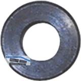 Kopf-Einlassrosette, ø 13 mm, Stahl schwarz verzinkt