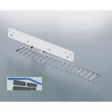 Krawattenauszug Karat, 130x90x540 mm, Stahl verchromt poliert