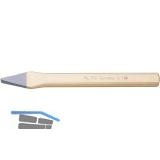 RENNSTEIG Kreuzmeißel flachoval DIN 6451 Schneidenbreite 6 mm Länge 150 mm