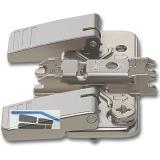 BLUM CLIP Kreuzmontageplatte, Stahl, INSERTA, HV: Exzenter, Distanz 0 mm