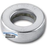 Kugellagerlaufring für Konstruktionsbänder Stift 14 mm, ø 25 mm, Stahl verzinkt