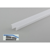 LED-Abdeckprofil STRING, 2000 mm, Opal