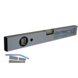 LM-Wasserwaage Silber eloxiert ohne Magnet Länge  400 mm