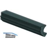 Dichtung 41AL-EPDM-F, für Clipprofil Glasstärke 8 & 10 mm, Kunststoff grau