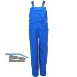 Latzhose Standard kornblau Gr.44 100% Baumwolle