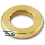 Laufring für Konstruktionsbänder, f. Stift 14 mm, Außen ø 24 mm, Messing blank