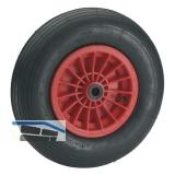Luftrad 400 x 100 x 20 mm mit Kunststofffelge Nabe 88 mm