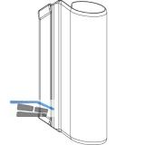 MACO Abdeckung Bandwinkel AS/PVC, braun F5 (42192)