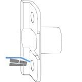 MACO Anpressverschluss, Rahmenteil, Eurofalz FT24 13V (357741)