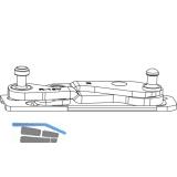 MACO Ecklager 3-flg. Multi Power, Holz FT 24, 13V, links (215829)