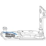 MACO Ecklager Multi Power, Holz FT 30, 13V, links, silber (214253)