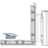 MACO Ecklagerband MAMMUT 180 kg, 12/18- 9 mm, weiß, links (222507)