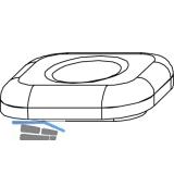 MACO Hubbegrenzung 90°, aufschraubbar, Zinkdruckguss silber (357081)
