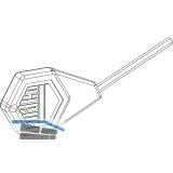 MACO Innensechskantschlüssel SW 2,5 f. Seitenwechsel Flügelheber (24239)