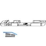 MACO Kippschließteil, Falzluft 12 mm, Eurofalz 20 mm, 9V (363300)