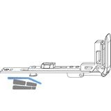 MACO MM Stulpflügelverschluss waagrecht, FFB 230-800 mm, silber (202251)