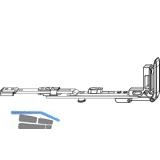 MACO MM Stulpflügelverschluss waagrecht, verlängerbar, FFB 240-1650 mm (202252)