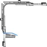 MACO MM Eckumlenkung für Schrägfenster 2 iS (214990)