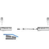 MACO PAS Grundkarton Laufwagen, links, 160 kg (466777)