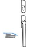 MACO SKB-Z Drehgriff außen für PZ, VK 8 mm, Aluminium silber eloxiert