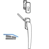 MACO SKB-Z Drehgriff innen für PZ, VK 8x112 mm, Aluminium silber eloxiert