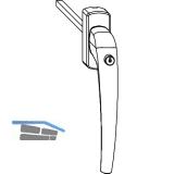 MACO SKB-Z Drehgriff innen, sperrbar, VK 8x40 mm, Aluminium silber eloxiert
