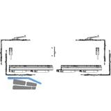 MACO SKB-Z Grundkarton, Schema A, 200 kg, Versatz  9 mm, links, silber (455512)