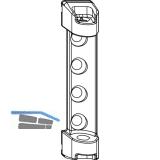 MACO Scherenlager PVC, 7 mm Tragezapfen, 120 kg, silber (52481)