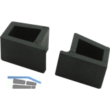 Endkappe für Transit, Kunststoff schwarz-grau
