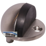 Bodentürpuffer  - Bodenpl. ø 45 mm, Anschlagh. 17 mm, Edelstahl matt