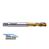 EXACT Maschinengewindebohrer 35º RSP HSS-E TIN DIN371 M 3 verstärkter Schaft
