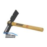 KRENHOF Maurerhammer mit Holzstiel und Nagelzieher 500 g