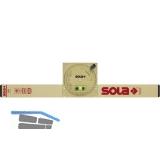 SOLA Neigungs-Wasserwaage mit Magnet Länge 500 mm