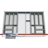 BLUM ORGA-LINE Komplettset für Essbesteck KB 900 mm, Nennlänge 500 mm