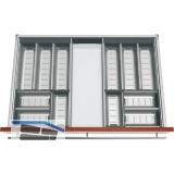 BLUM ORGA-LINE Komplettset für Essbesteck KB 800 mm, Nennlänge 450 mm