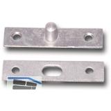 Oberlicht-Steckzapfen ø 6 mm, Stahl verzinkt