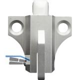 Oberlichtschnapper m. Hebelzug und Falle aus Nylon, Alu pulverbesch. RAL 9010