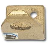 Schließblech zu Oberlichtschnapper für 22 mm Überschlag, Messing natur