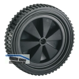 PVC-Rad schwarz mit Stollenprofil 150 x 32 x 12 mm Nabenbreite 34 mm
