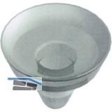 PVC-Saugnäpfe 11605 für Aufsteckhalter, zur rutschfreien Auflage von Glasböden