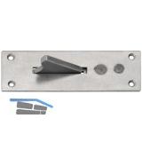 Paderschnapper, Platte 33 x 110 mm, Stahl verzinkt