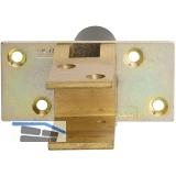 Pendeltürbeschlag, Feststell. 90°, TS 19 - 24 mm, Messing poliert