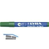 LYRA Permanent-Marker 112 Strichbreite 1-4 mm grün runde Spitze