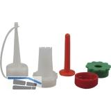 Ersatzdüse Form B zu Plastik Leimspritze mit 5 verschiedene Wechseldüsen
