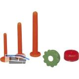 Ersatzdüse Form E zu Plastik Leimspritze mit Schlitzdüsen 8, 10, 12 mm