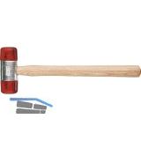 Plastikhammer Kopfdurchmesser 27 mm mit Eschenstiel