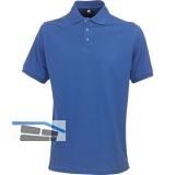 ACODE Polo-Shirt Basecamp Uni königsblau Gr.46 (S) 100% Baumwolle