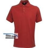 ACODE Polo-Shirt Basecamp Uni rot Gr.46 (S) 100% Baumwolle