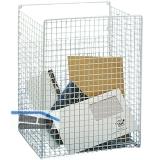 Postkorb zur Montage innen, 300 x 350 x 150 mm, weiß kunststoffbeschichtet